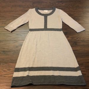 Dresses & Skirts - Fitted grey sweater dress